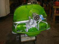 <h2></h2><p>VW Engine Cover in Dormaint Green with  Metalic Gold Top Coat