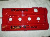 <h2></h2><p>Import Valve Cover in Blood Red with Gloss Black Hi-Lites
